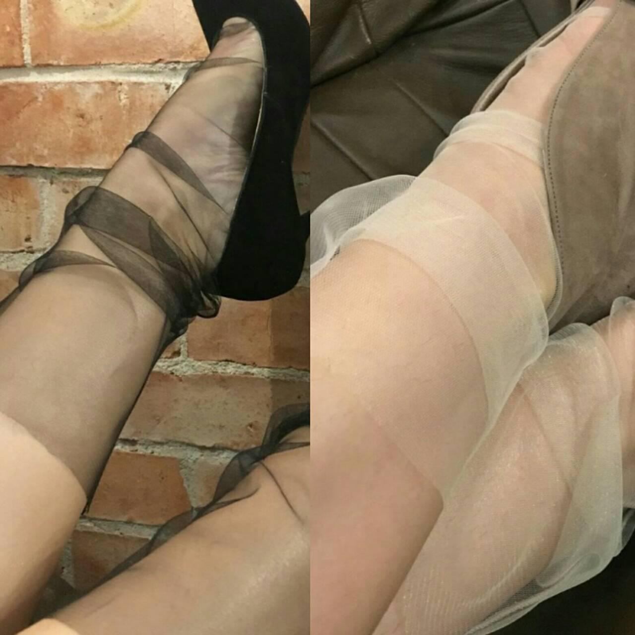 Модные носки бобинетки, тренд