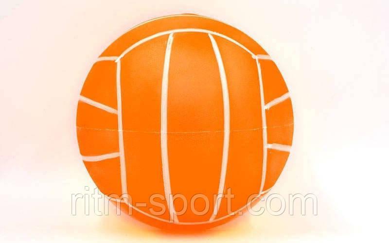 Мяч детский резиновый волейбол  d 17 см