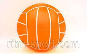 Мяч детский резиновый волейбол  d 17 см, фото 2