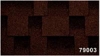Битумная гибкая черепица, Kerabit  Керабит, коллекция Квадро, цвет Спелый каштан