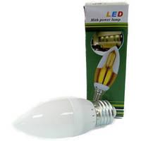 Лампа светодиодная Свеча 3 Вт Е14 220V 4000k