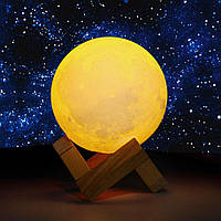 """Детский ночник - светильник-Ночник """"Луна"""" 8 см"""