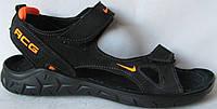 Кожаные мужские сандалии в стиле Nike 40 41 42 43 44 45 сандали босоножки, фото 1