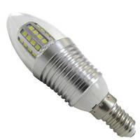 Лампа LED свеча АВаТар прозрачная колба 7W 220V E14 белый свет