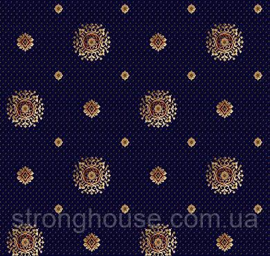 Ковролін Barocco 888-810 синій ( Бароко )