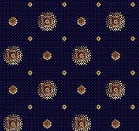 Ковролин Barocco 888-810 синий ( Барокко )