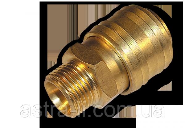 """Коннектор РН 1/4"""" - латунь, SE2-2SM"""