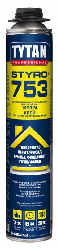 Полиуретановый клей для пенопласта Титан