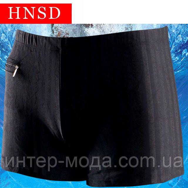 Мужские купальные плавки HNSD арт.9761-чёрный