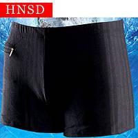 Мужские купальные плавки HNSD арт.9761-чёрный, фото 1