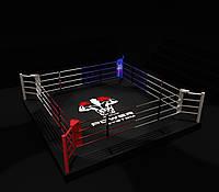 Боксерский ринг 6Х6 метра, на помосте  (0,35 м) профессиональный., фото 1