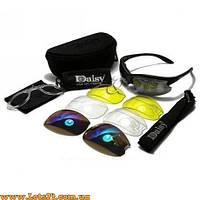 Daisy C3 - тактические защитные очки (4 линзы в комплекте, солнцезащитные)