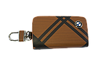 Ключниця Carss з логотипом BMW 12014 карбон коричневий, фото 5
