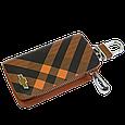 Ключница Carss с логотипом CHEVROLET 14014 карбон коричневый, фото 2