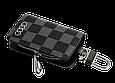 Ключница Carss с логотипом AUDI 01013 карбон серый, фото 3