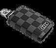 Ключница Carss с логотипом AUDI 01013 карбон серый, фото 4