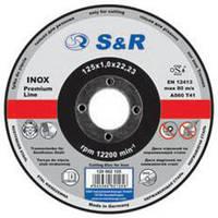 Круг отрезной по металлу S&R Supreme типа A 60 R Slim 1х115