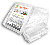 Тент (тарпаулин) водонепроницаемый WHITE 90 гр/м.кв. размер 3 х 4м, PLW903/4