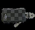 Ключница Carss с логотипом FORD 03013 карбон серый, фото 3