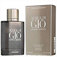Мужская туалетная вода Giorgio Armani Acqua di Gio Limited Edition (пряный, цитрусовый аромат)