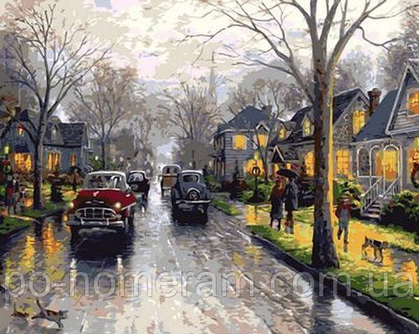 Картина Дождливая Англия Томас Кинкейд