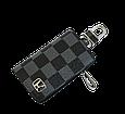 Ключница Carss с логотипом HONDA 08013 карбон серый, фото 2