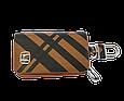 Ключница Carss с логотипом HONDA 08014 карбон коричневый, фото 2