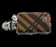 Ключница Carss с логотипом HONDA 08014 карбон коричневый, фото 3
