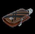Ключница Carss с логотипом HONDA 08014 карбон коричневый, фото 4