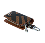 Ключница Carss с логотипом HONDA 08014 карбон коричневый, фото 5