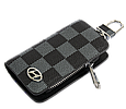Ключница Carss с логотипом HYUNDAI 10013 карбон серый, фото 2