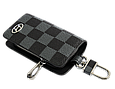 Ключница Carss с логотипом HYUNDAI 10013 карбон серый, фото 3