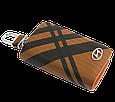 Ключница Carss с логотипом HYUNDAI 10014 карбон коричневый, фото 4