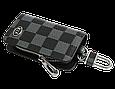 Ключница Carss с логотипом KIA 05013 карбон серый, фото 3