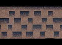 Битумная гибкая черепица, Kerabit  Керабит, коллекция Квадро, цвет Янтарный