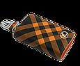 Ключница Carss с логотипом LEXUS 13014 карбон коричневый, фото 3