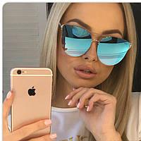 Очки DIOR, солнцезащитные очки женские новинки,цвет голубой , фото 1