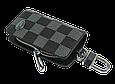 Ключница Carss с логотипом LAND ROVER 15013 карбон серый, фото 3
