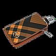 Ключница Carss с логотипом MAZDA 16014 карбон коричневый, фото 2