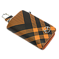 Ключница Carss с логотипом MAZDA 16014 карбон коричневый, фото 3