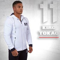 Спортивная толстовка мужская Kiro Tokao - 174 белая, фото 1