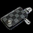 Ключница Carss с логотипом NISSAN 09013 карбон серый , фото 2