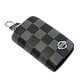Ключница Carss с логотипом NISSAN 09013 карбон серый , фото 3
