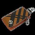 Ключница Carss с логотипом NISSAN 09014 карбон коричневый, фото 2