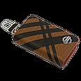 Ключница Carss с логотипом NISSAN 09014 карбон коричневый, фото 3