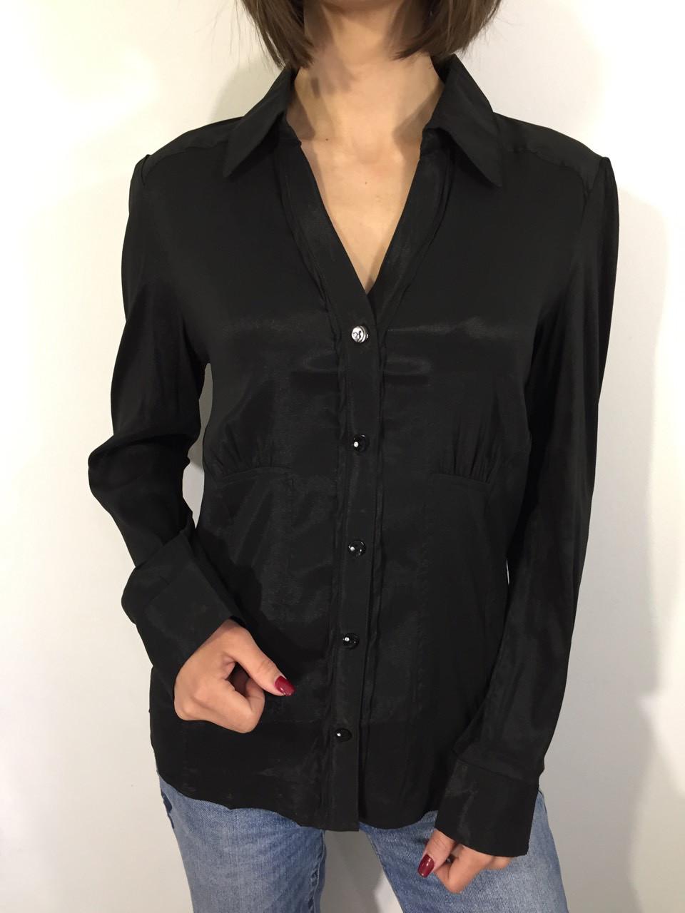 Рубашка женская А - 85 черная