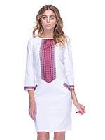 Біла вишита сукня (українська вишиванка) 10004aef4957d