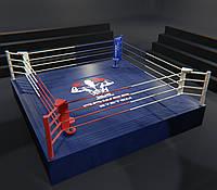 Ринг на помосте (1 м) профессиональный 6Х6 метра