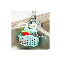 Кухонный органайзер/ корзинка для губок (светло серый)
