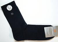 Высокие черные носки с махровым следом, фото 1